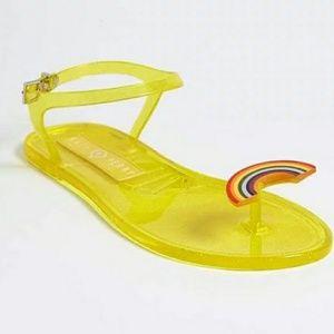 NWOT Katy Perry Rainbow Sandals
